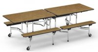 Cafeteria Bench Tables